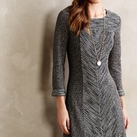 Shimmer Panel Dress by Sunday in Brooklyn Dark Grey