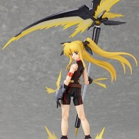 """Max Factory Magical Girl Lyrical Nanoha The MOVIE 2nd A's figma No. 163 """"Fate Testarossa -Sonic Form Ver.-"""" (Japan Import)"""