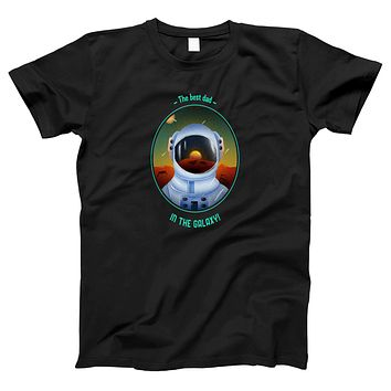 The Best Dad in the Galaxy Women's T-shirt