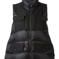 Moncler Y zipped padded gilet