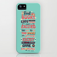 Read Books iPhone & iPod Case by Risa Rodil