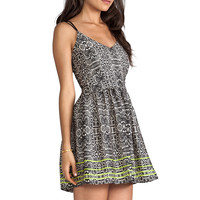DV by Dolce Vita Hanni Highlighted Snake Dress in Multi Print from REVOLVEclothing.com