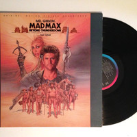 Soundtrack LP Mad Max Beyond Thunderdome Vinyl Record Tina Turner Maurice Jarre 1985