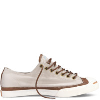Converse - Jack Purcell Leather and Textile - Portrait Gray/Tobacco