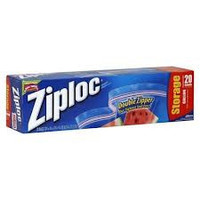 S C Johnson Wax 00350 Ziploc 20-Count Gallon Storage Bags - Quantity 1