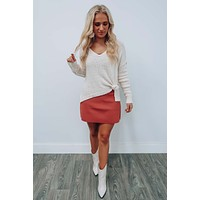 Easy To Forget Sweater: Beige