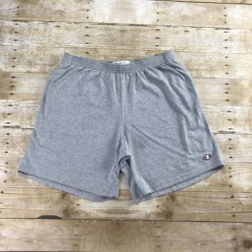 Champion Sportswear Heather Gray Gym Shorts Mens Size Large