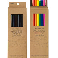 Woodless Graphite Pencils (set of 8)