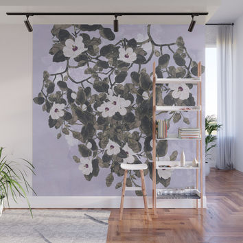 Magnolia Spring Wall Mural by anipani