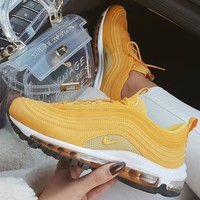Nike  Air Max 97 Air cushion fashionable leisure shoes