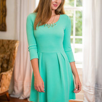 Turn To Me Dress, Mint