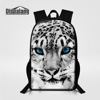 Cool Backpack school Dispalang Women Men Backpack For Teenagers School Bags Girls Boys Cool Leopard Back Pack Animal Printing Backpack Travel Mochila AT_52_3