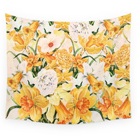 Society6 Wordsworth And Daffodils. Wall Tapestry