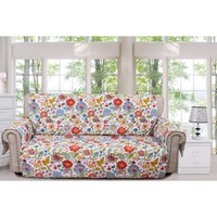 Astoria Floral Sofa Furniture Protector by Greenland Home Fashions, Multicolor