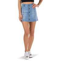 A-Line Denim Skirt | Shop At Vans