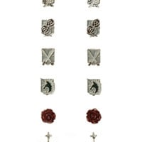 Attack On Titan Earring Set 6 Pair