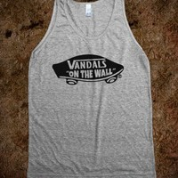 VANDALS ON THE WALL TANK