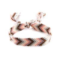 Classic Friendship Bracelet in Mocha