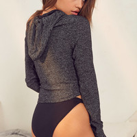Out From Under Lulu Fitted Hoodie Sweatshirt | Urban Outfitters
