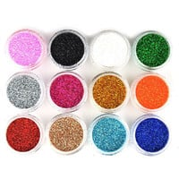 Pro Eyeshadow Glitter Powder Palette