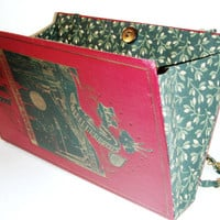 Book Purse made from vintage Nelson's by RokkiHandbags on Etsy