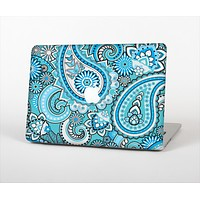 "The Vibrant Blue and White Paisley Design  Skin Set for the Apple MacBook Pro 13""   (A1278)"