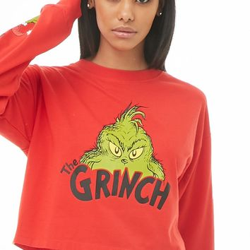 The Grinch Graphic Top