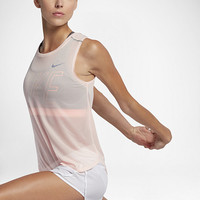 The Nike Breathe Women's Running Tank.