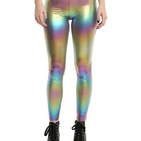 Metallic Rainbow Leggings