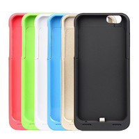 """3500mAh Rechargeable External Battery Backup Charger Case iPhone 6 4.7"""""""