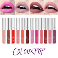 HOT Brand Lip Color COLOURPOP Ultra Matte Liquid Lipstick Moisture Long Lasting LIP STICK COLOURPOP 24 Colours Available