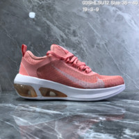 HCXX N976 2019 Nike Air Max Fly MD Big Logo Breathable Running Shoes Pink