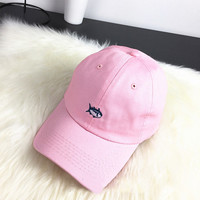 Sun Golf Casquette Rare Drake Southerns Tide Small Fish Hat 6 Panel Pink Snapback Hat Baseball Cap for Men Women
