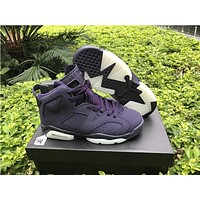 Air Jordan 6 Retro Gs Purple Dynasty Shoe 36 40 | Best Deal Online