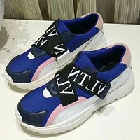 Valentino Women Fashion Simple Casual Sneakers Sport Shoes
