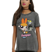 Powerpuff Girls Trio Punch Girls T-Shirt