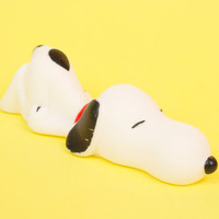 Vintage Snoopy Dog Squeak Toy from Peanuts Charlie Brown Comic