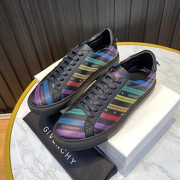 Givenchy  Men Fashion Boots fashionable Casual leather Breathable Sneakers Running Shoes0331cx
