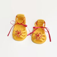 Crochet Baby sandals Baby girls shoes Baby shower Newborn baby girl Toddler girls shoes Newborn booties Girls jellies sandal Crocheted baby