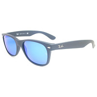 Ray-Ban RB 2132 New Wayfarer 622/17 Rubber Black Sunglasses mieniwe?