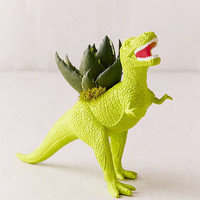 Upcycled T-Rex Faux Succulent Planter | Urban Outfitters