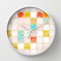 morning news Wall Clock by spinL