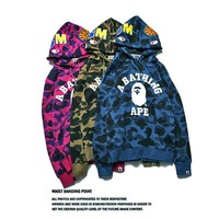 Couple Camouflage Hoodies Jacket [10351478535]