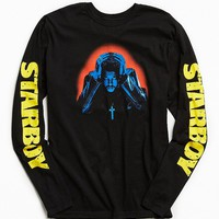 The Weeknd Starboy Photo Long Sleeve Tee - Urban Outfitters