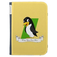 Cute penguin cartoon kindle 3G case