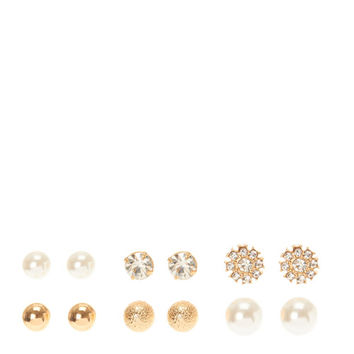 Classy Basics Stud Earrings