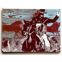Rodeo Time Wood Sign