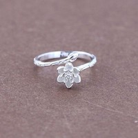 New Arrival Stylish Gift Jewelry Shiny 925 Silver Korean Accessory Ring [8380596423]