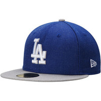 """Dodgers """"Heather Action"""" Fitted Hat"""