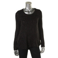 BCBGeneration Womens Knit Marled Pullover Sweater